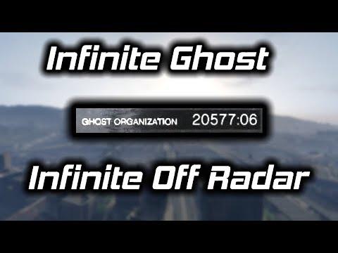 GTA Online: Infinite Ghost Organization/Off Radar Glitch Tutorial (NEEDS PATCHING IMMEDIATELY)
