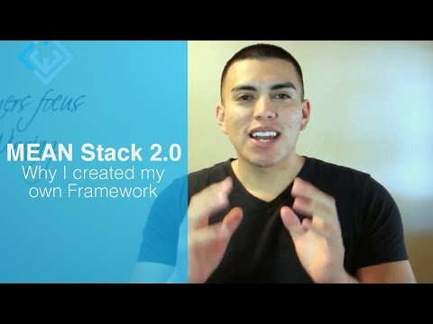 Why I created my own Framework