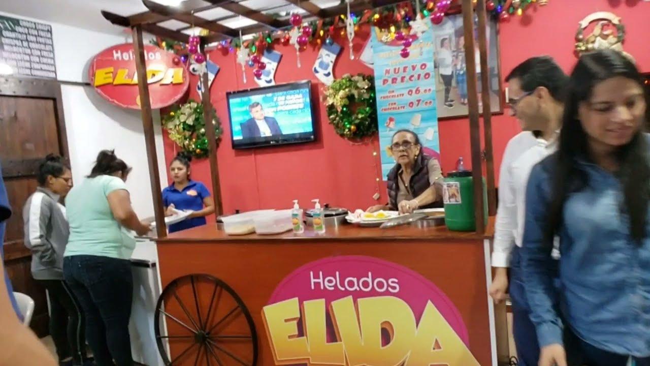 Elida's ice cream JALAPA Guatemala - YouTube