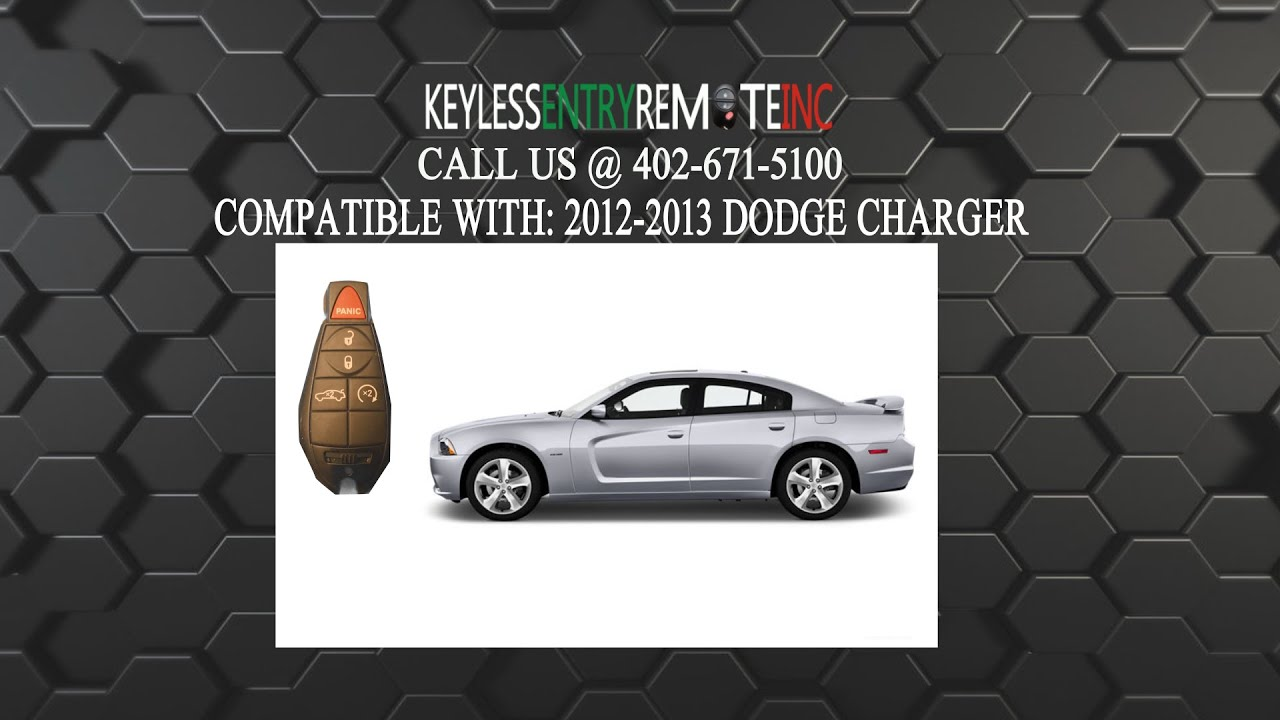 How To Replace Dodge Charger Key Fob Battery 2012 2013 Youtube