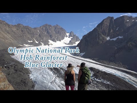 Hoh Rainforest/Blue Glacier: Backpacking Washington's Olympic National Park In 4K