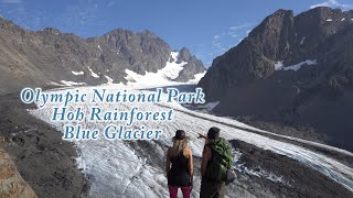 Hoh Rainforest/Blue Glacier: Backpacking Washington's Olympic National Park in 4K