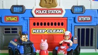 New Paw Patrol Episode Police Station Ryder Chase Zuma Peppa Pig Animation