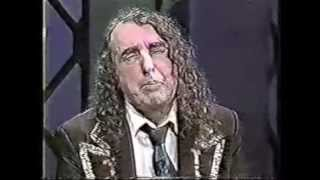 Repeat youtube video Tiny Tim on Downey (ca. 1994)