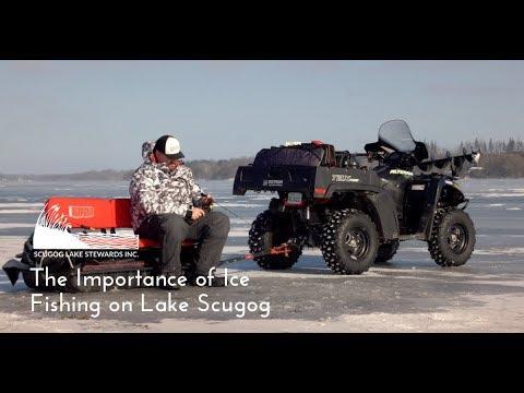 Lake Scugog And The Importance Of Ice Fishing