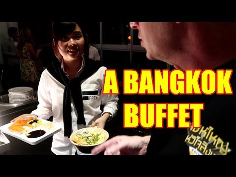 A Bangkok Buffet Dinner Baiyoke Sky Tower V338