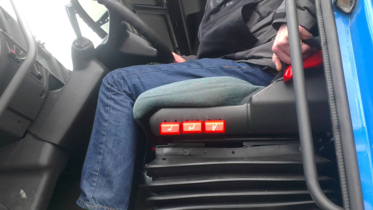 how to adjust a seat in a truck
