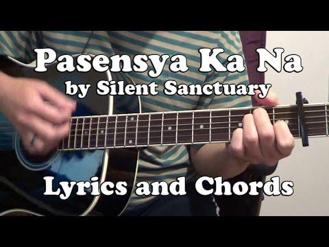 Acoustic Guitar Plucking Etc Pasensya Ka Na By Silent Sanctuary