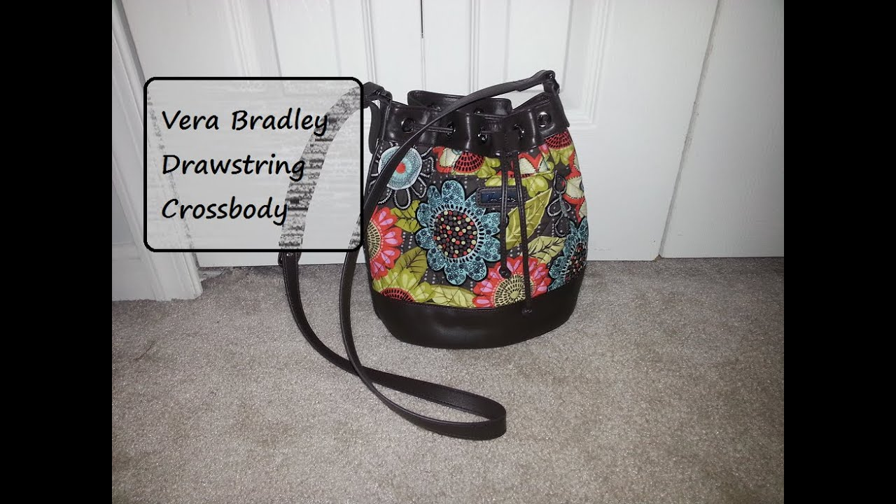 e3d4674cd Vera Bradley | Drawstring Crossbody (Flower Shower) - YouTube