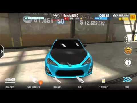 CSR2 - Best tune for Toyota GT86 (V 1.2.0) - YouTube