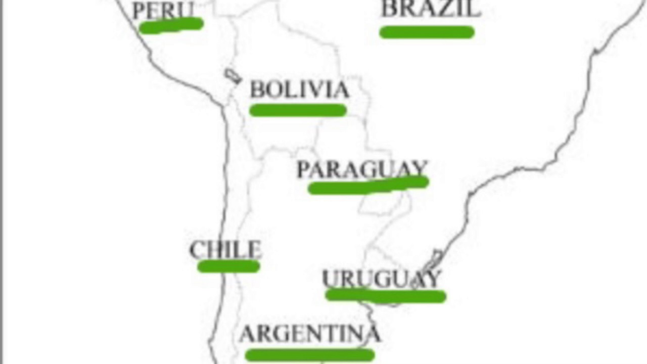 Map Quiz South America  YouTube - Map quiz on south america