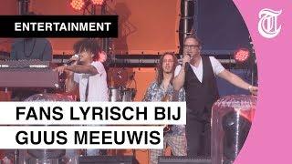 Ronnie Flex en Bløf vergezellen Guus Meeuwis in Groots(e) feest in Eindhoven