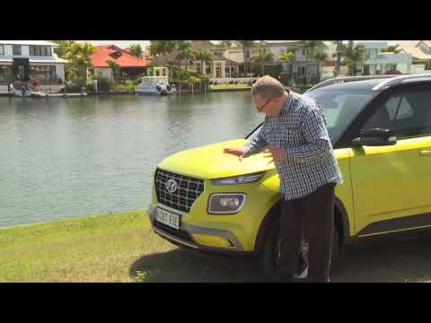 Hyundai Venue Australian Launch With David Brown