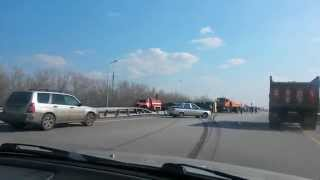 Авария. Трасса Астана-Боровое. Акколь