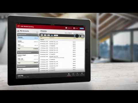 CIBC Mobile Banking® App for iPad®