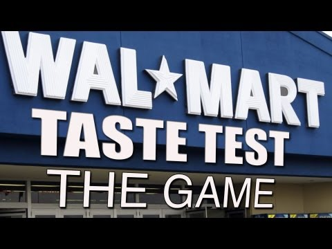 Walmart Brand vs Name Brand Taste Test: The Game