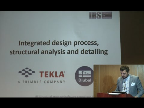 Integrated design process, structural analysis and detailing
