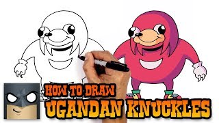 How to Draw Ugandan Knuckles | Art Tutorial