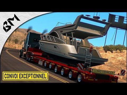 American Truck Simulator - Le GROS Convoi de l'extrême !