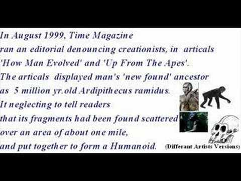 Evolution Bloopers Hoaxes and Contradictions