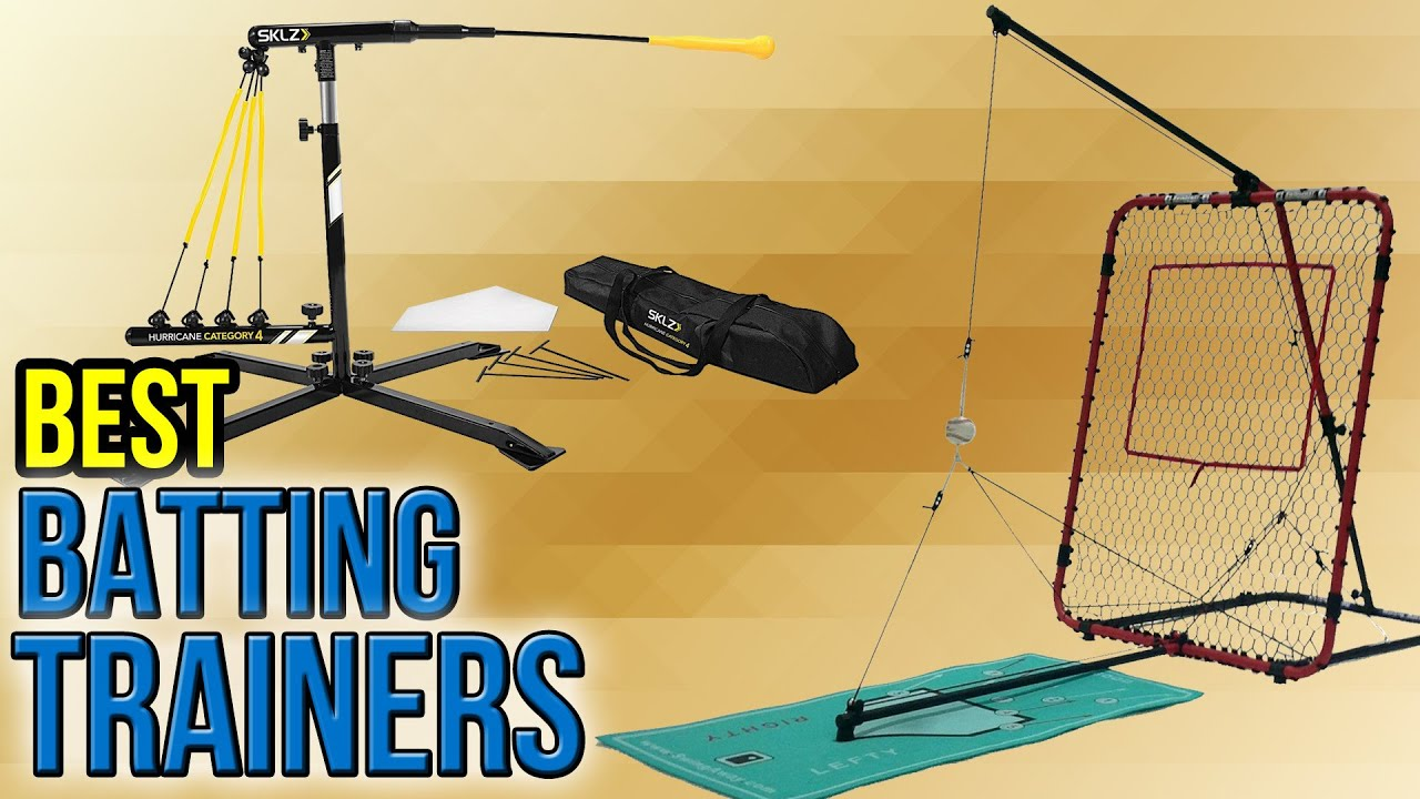 8 Best Batting Trainers 2017 - YouTube
