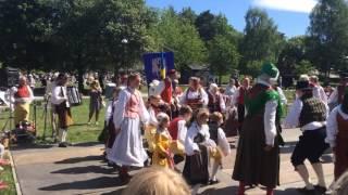 Bandhagen, firande av Nationaldagen 2016-06-06