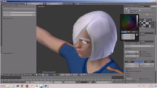 Анимация: blender + makehuman + bvh. Часть 2.