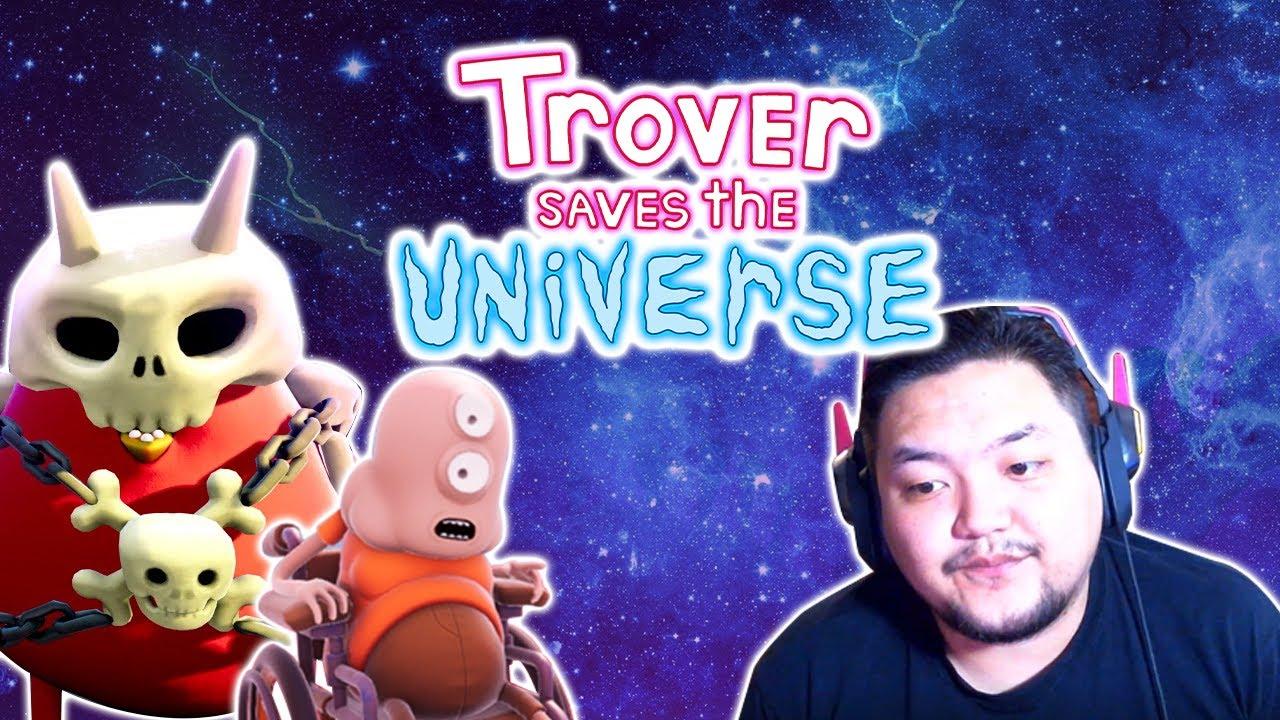Trover Saves The Universe (3) - Явсан Газартаа Зовлонтой