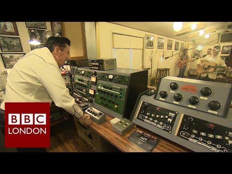 A 50s recording studio recreated in Essex – BBC London News