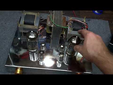 Wzmacniacz Lampowy 10W 6P45C SE