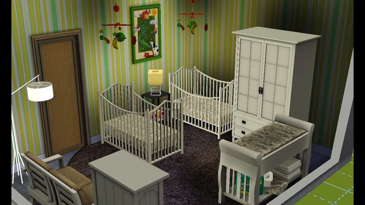 Sims 3 Unisex Twin Nursery Youtube