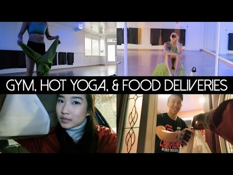 Gym, Hot Yoga, & Food Deliveries | January 8