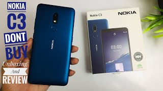 Nokia C3 Unboxing And Review Dont Buy