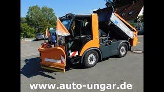 Multicar Tremo X56 Baujahr 2007 Winterdienst www.auto-ungar.de