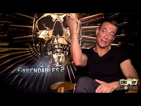 Jean-Claude Van Damme Talks Playing Villain In 'The Expendables 2' EXCLUSIVE