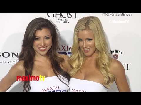 Samantha Brooks (Miss Santa Monica 2013) 2013 Maxim Hot 100 Party Green Carpet ARRIVALS