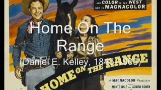 Home On The Range, mandolin/tenor guitar instrumental