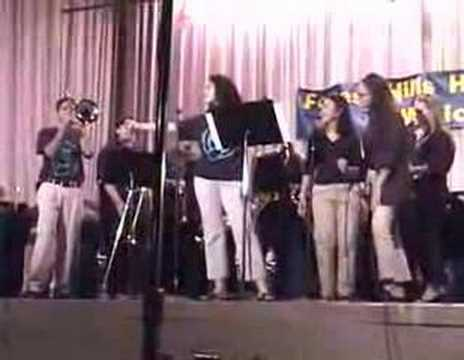 FHHS Select Jazz - 2001 - Proud Mary