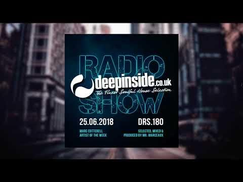DEEPINSIDE RADIO SHOW 180 (Marc Cotterell Artist of the week)