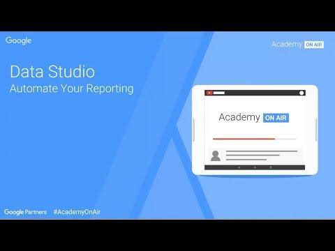 Academy on Air - Data Studio (30.11.2017)