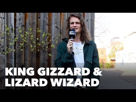 King Gizzard and the Lizard Wizard on vegemite in Toronto, Interview