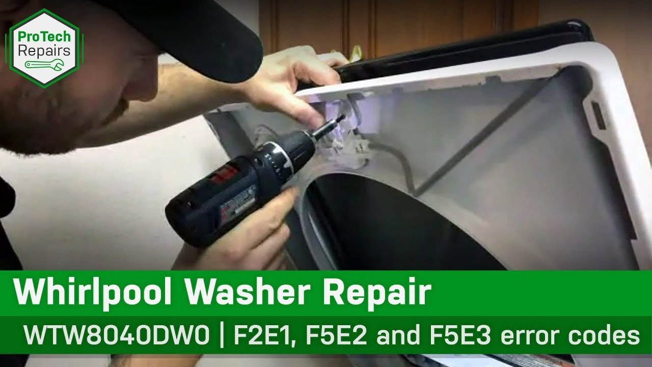 Whirlpool Maytag Washer Lid Will Not Unlock Diagnostic Repair Youtube