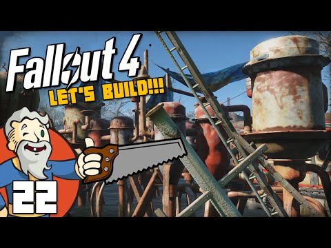 """I FIXED THE WATER PURIFICATION!!!"" Fallout 4 LET'S BUILD Part 22 - 1080p HD PC Gameplay Walkthrough"