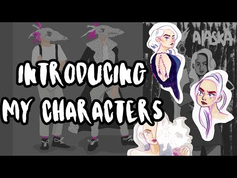 Introducing My Characters! | Alaska Comic Development!