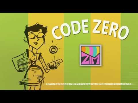 ZIM Bubbling: 33. Code Zero - #HTML #Canvas #JavaScript, #CreateJS, #ZIMjs