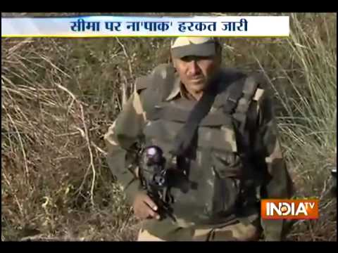 Pakistan targets BSF posts ahead of PM Modi's visit to Jammu & Kashmir