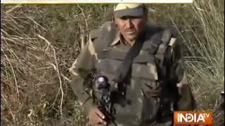 Pakistan targets BSF posts ahead of PM Modi