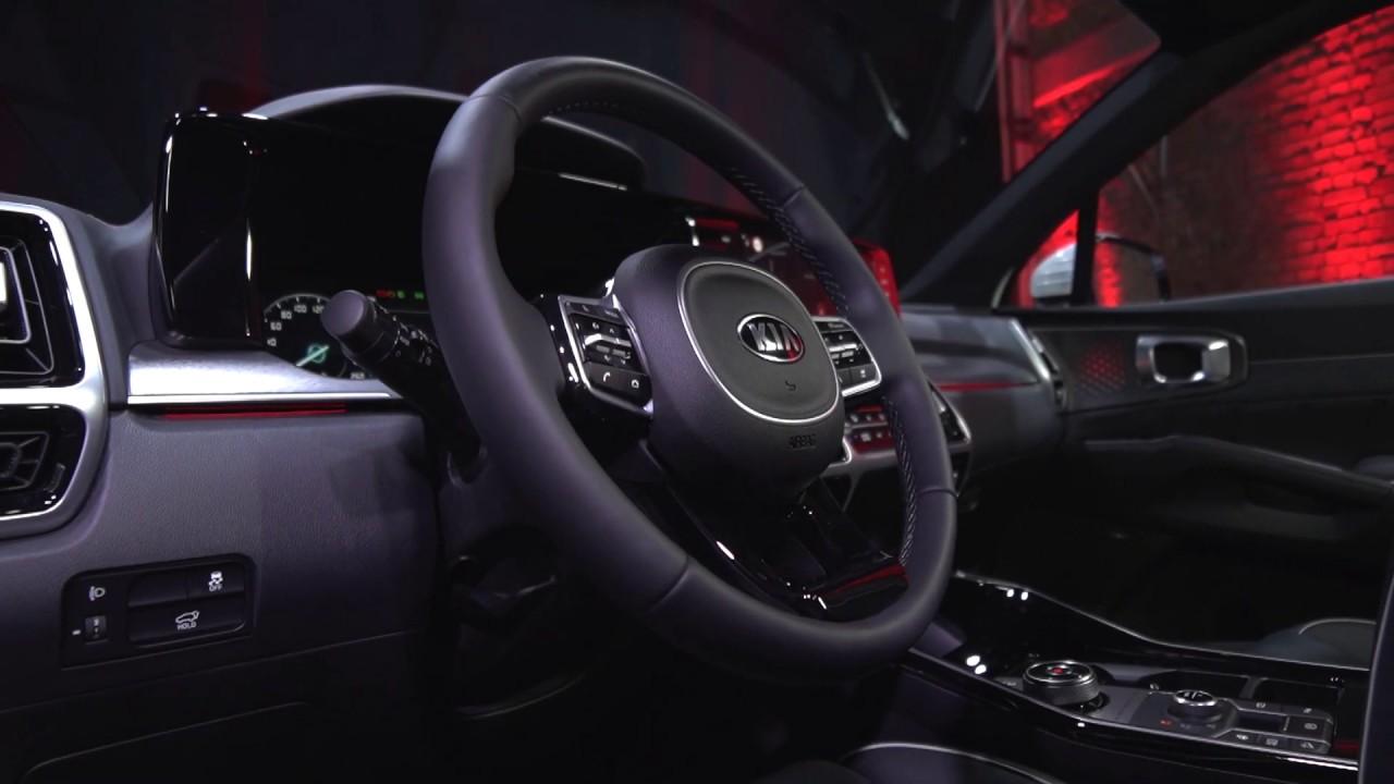 2021 Kia Sorento on its European-spec (Interior) - YouTube