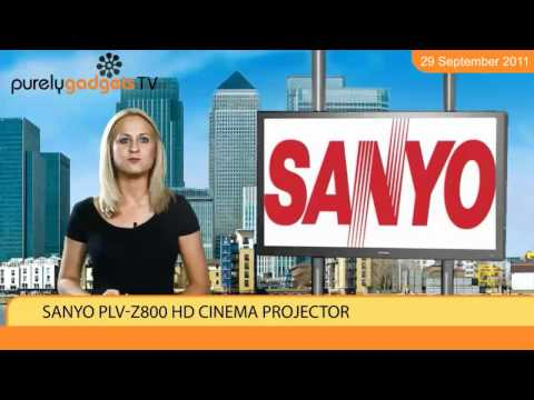 Sanyo PLV-Z800 HD Cinema Projector