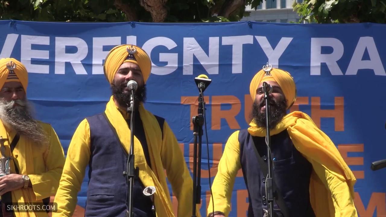 Bhai Mehal Singh Ji Kavishri Jatha @ Sikh Rally, San Francisco - June 11, 2017